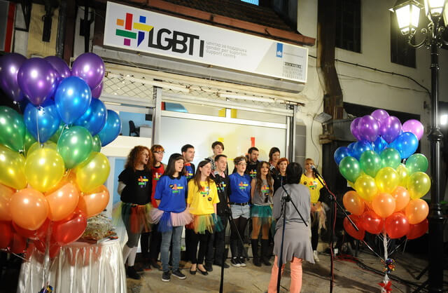 LGBTI support center